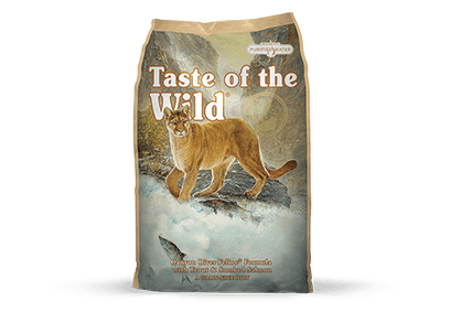 Taste of the Wild Cat Food - Canyon River Feline Formula with Trout & Smoked Salmon
