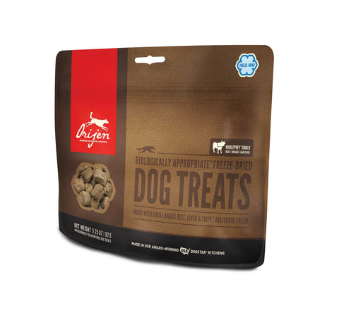 ORIJEN Dog Treats - Freeze Dried Angus Beef