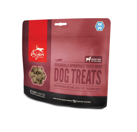 ORIJEN Dog Treats - Freeze Dried Grass-Fed Lamb