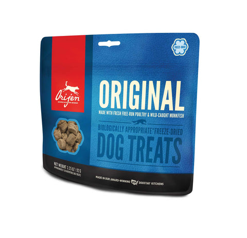 ORIJEN Dog Treats - Freeze Dried Original