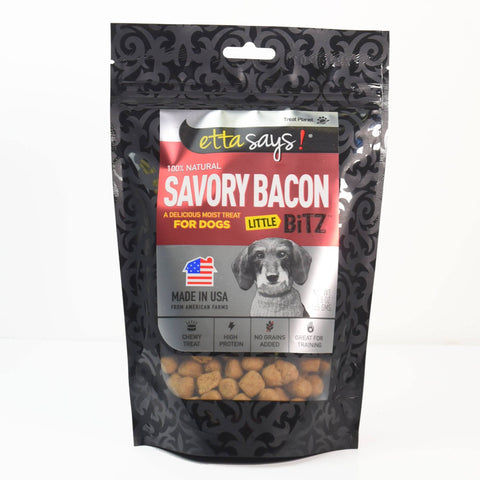 Hollywood Feed - Etta Says Little Bitz - Bacon - 5.5oz - Treats