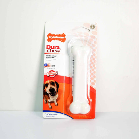 Hollywood Feed - Nylabone DuraChew Bone - Chicken - Wolf - Chew