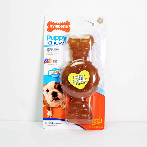 Hollywood Feed - Nylabone Puppy Chew - Chicken - Wolf - Chew
