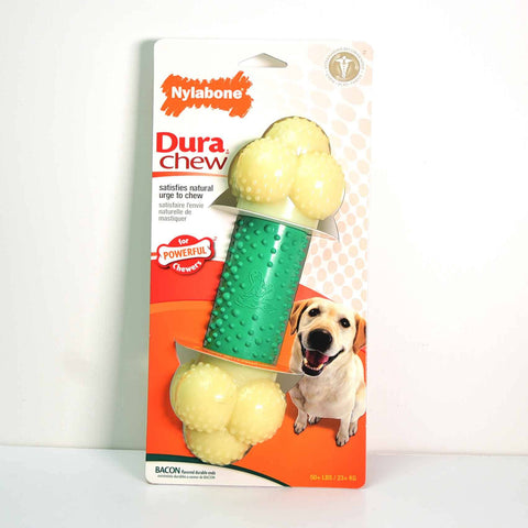 Hollywood Feed - Nylabone DuraChew - Double Action - Bacon - Souper - Chew