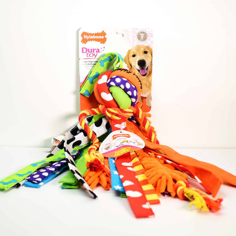 Hollywood Feed - Nylabone DuraToy - Happy Moppy - Large - Play Toy