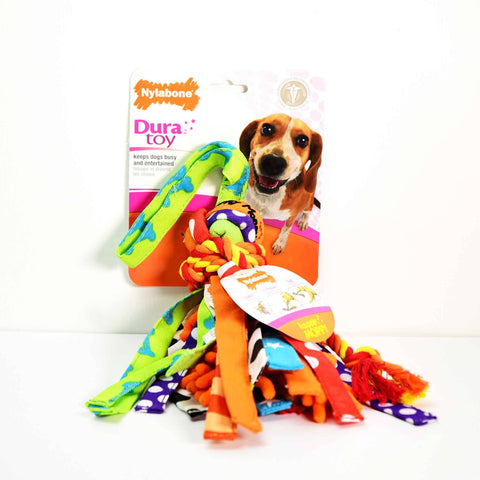 Hollywood Feed - Nylabone DuraToy - Happy Moppy - Medium - Play Toy