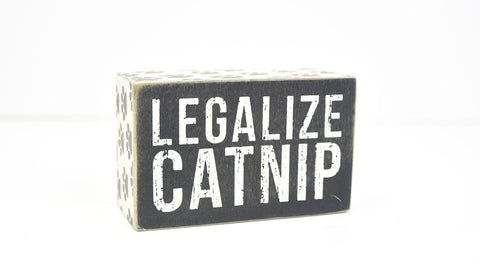 Box Sign - Catnip