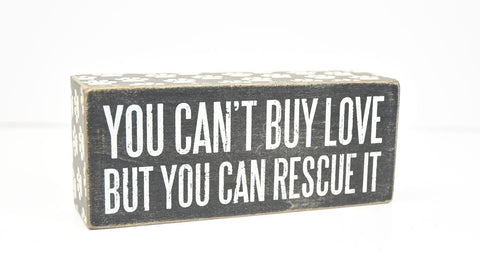 Box Sign - Rescue It