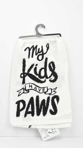 Dish Towel - My Kids Have Paws