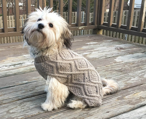 Fisherman Sweater by Ethical Pet