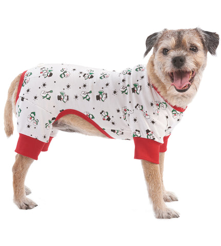 Snowman Pajamas by Ethical Pet