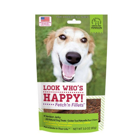 Look Who's Happy - Venison Jerky - 3oz