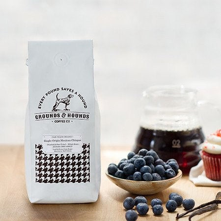 Grounds & Hounds Coffee Co. - Mexican Chiapas - 12oz Whole Bean