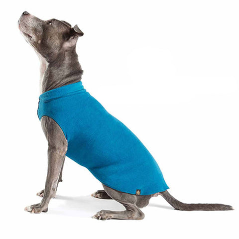 Gold Paw Fleece - Marine Blue