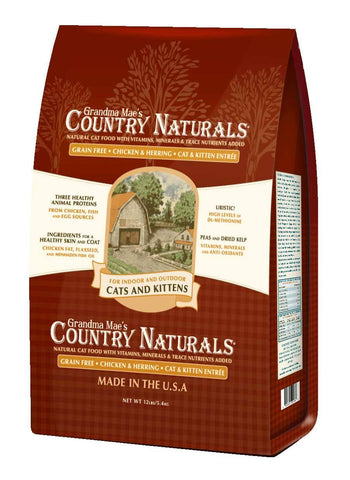 Country Naturals Cat Food - Grain Free Cat & Kitten Entrée