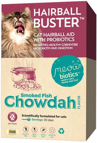 MeowBiotics - Hairball Buster For Cats