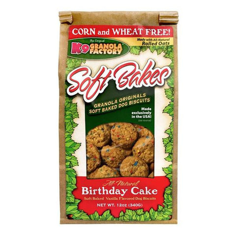 K9 Granola Factory - Soft Bakes Birthday Cake 12oz