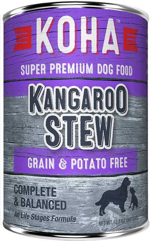 Koha Dog Food - Kangaroo Stew - 12.7oz 12/cs