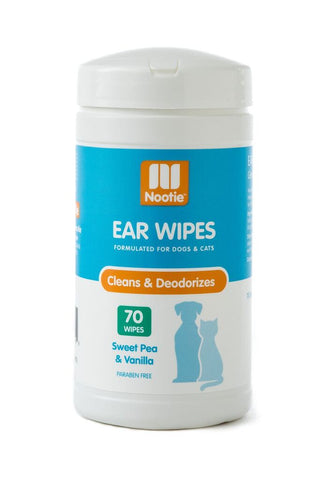 Nootie - Ear Wipes - Sweet Pea & Vanilla 70ct