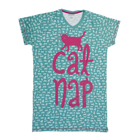 Hatley - Sleep Shirt - Cat Nap