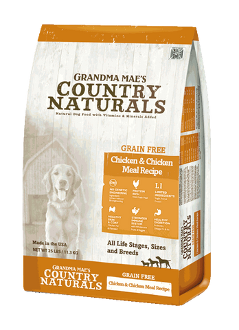 Country Naturals Dog Food - Grain Free Limited Ingredient Chicken