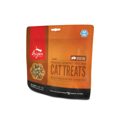ORIJEN Cat Treats - Freeze Dried Wild Boar