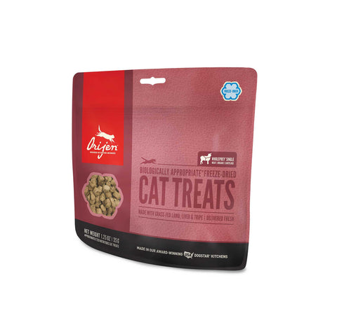 ORIJEN Cat Treats - Freeze Dried Grass-Fed Lamb