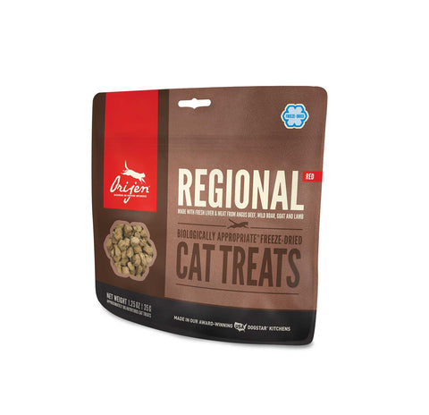 ORIJEN Cat Treats - Freeze Dried Regional Red