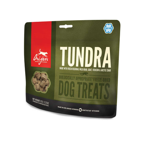 ORIJEN Dog Treats - Freeze Dried Tundra