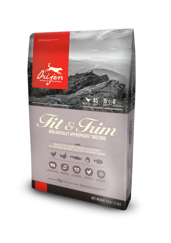 ORIJEN Dog Food - Fit & Trim NEW!