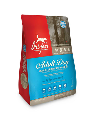 ORIJEN Dog Food - Freeze Dried Adult -16oz