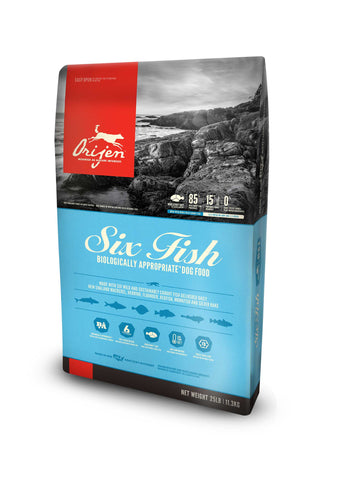 ORIJEN Dog Food - 6 Fish