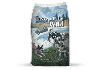 Taste of the Wild Dog Food - Pacific Stream Puppy Formula with Smoked Salmon