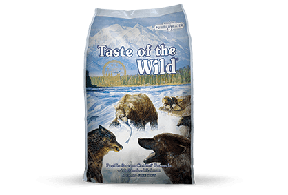 Taste of the Wild Dog Food - Pacific Stream Canine Formula with Smoked Salmon