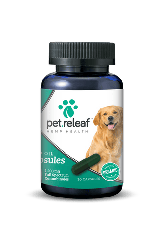 Pet Releaf Hemp Oil Capsules 450mg