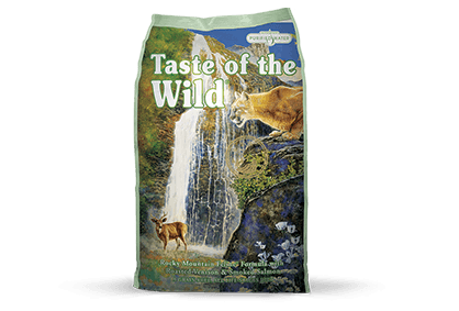 Taste of the Wild Cat Food - Rocky Mountain Feline Formula with Roasted Venison & Smoked Salmon