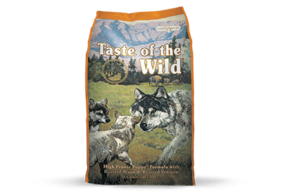 Taste of the Wild Dog Food - High Prairie Puppy Formula with Roasted Bison & Roasted Veniso