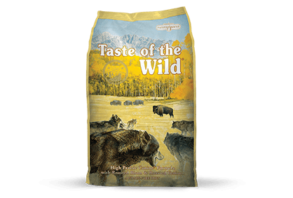 Taste of the Wild Dog Food - High Prairie Canine Formula with Roasted Bison & Roasted Venison