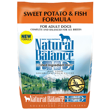 Natural Balance - LID Sweet Potato & Fish