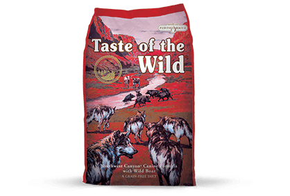 Taste of the Wild Dog Food - Southwest Canyon Canine Formula with Wild Boar