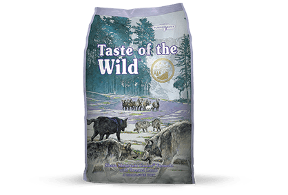 Taste of the Wild Dog Food - Sierra Mountain Canine Formula with Roasted Lamb