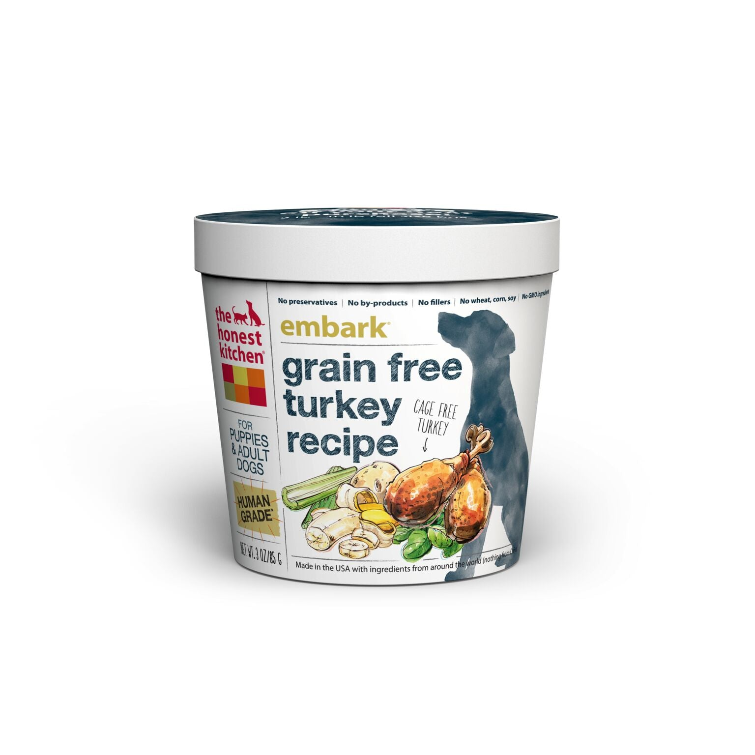 dog side chicken thk food free grain honest recipe dehydrated panel kitchen the force