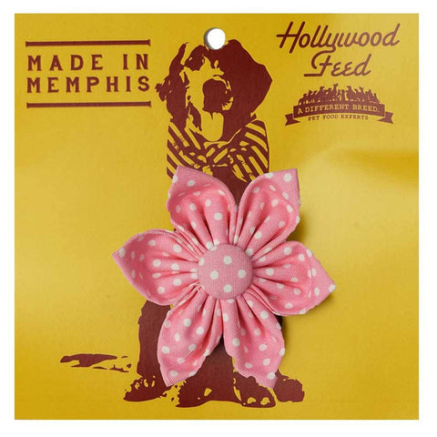 Memphis Made Flower - Pink/White Valenties - Small