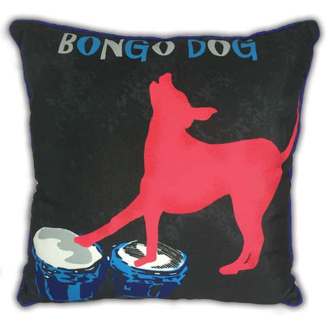 Arlee Pillow - Bongo Dog - 18""