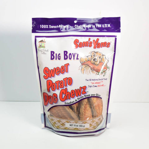 Sam's Yams Big Boyz Sweet Potato Chews - 15 Ounce