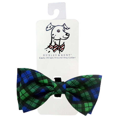 Huxley & Kent Bow Tie - Blackwatch Plaid