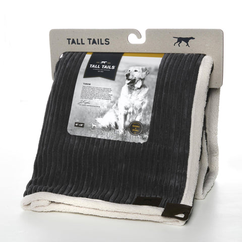 Hollywood Feed - Tall Tails Corduroy Throws - Blanket - 1