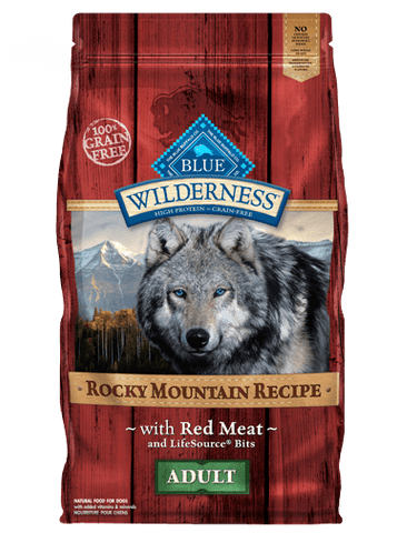 Blue Wilderness Adult - Rocky Mountain Recipes - Red Meat Grain Free
