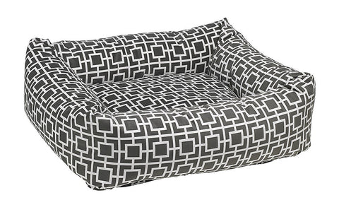 Hollywood Feed - *Bowsers Dutchie Bed - Courtyard Grey - Bolster Bed