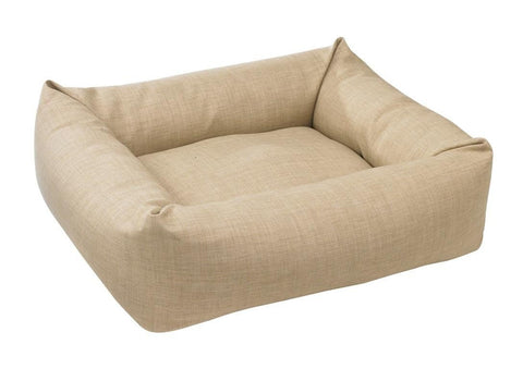 Hollywood Feed - *Bowsers Dutchie Bed - Flax - Bolster Bed